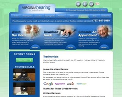 Hearing Aids Review Page at Virginia Hearing Consultants in Norfolk VA