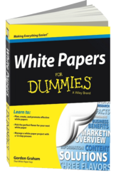 White Papers For Dummies 3D cover