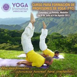 Curso de entrenamiento (Yoga training course)