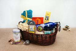 Warrior II Gift Basket from Eco Chic