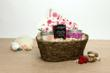 Tickle Someone Pink Gift Basket from Eco Chic