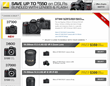 Nikon Instant Savings up to $550 on DSLR Camera Bundles