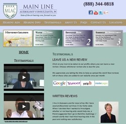 Hearing Aids Review Page at Main Line Audiology Consultants