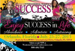 Womens Success Conference, Stacia Pierce, Ariana Pierce, Daymond John, Les Brown, Tiffany Dawson, Amber Hankins, Entrepreneurs