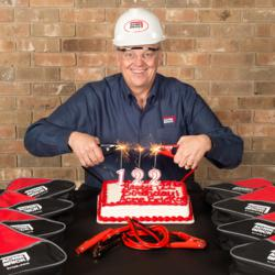 Acme Brick Company celebrates 122 years in business.