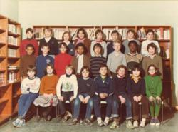 photo de 1980, 6eme, College Eugene Delacroix