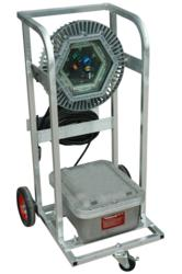 Rechageable Explosion Proof LED Lighting System with Wheels