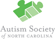 Autism Society of North Carolina logo