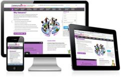 Responsive web design for Outsource2india website