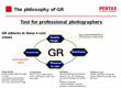 Pentax / Ricoh GR Camera