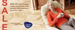 Stressless April Promotion--Free Accessory and $300 Off Sunrise