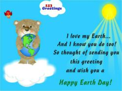 Earth Day Cards, Free Earth Day eCards, Greeting Cards, Greetings from 123greetings.com