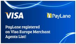 PayLane registered as Visa Europe Merchant Agent