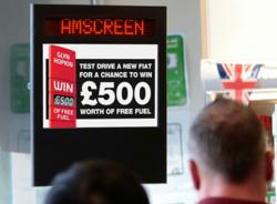 amscreen, digital media advertising screens