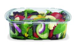 tamper evident containers, food packaging, plastic food containers, recyclable food packaging