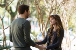 """Remember Sunday,"" starring Alexis Bledel and Zachary Levi, airs Sunday, April 21, on ABC."