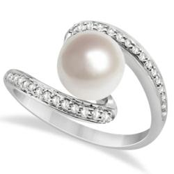 (0.17ctw) (8mm Freshwater Cultured Pearl)