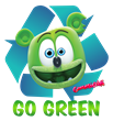 Gummibär Go Green T-Shirt - Recycle Design