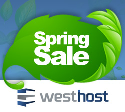 Shared Website Hosting Spring Sale