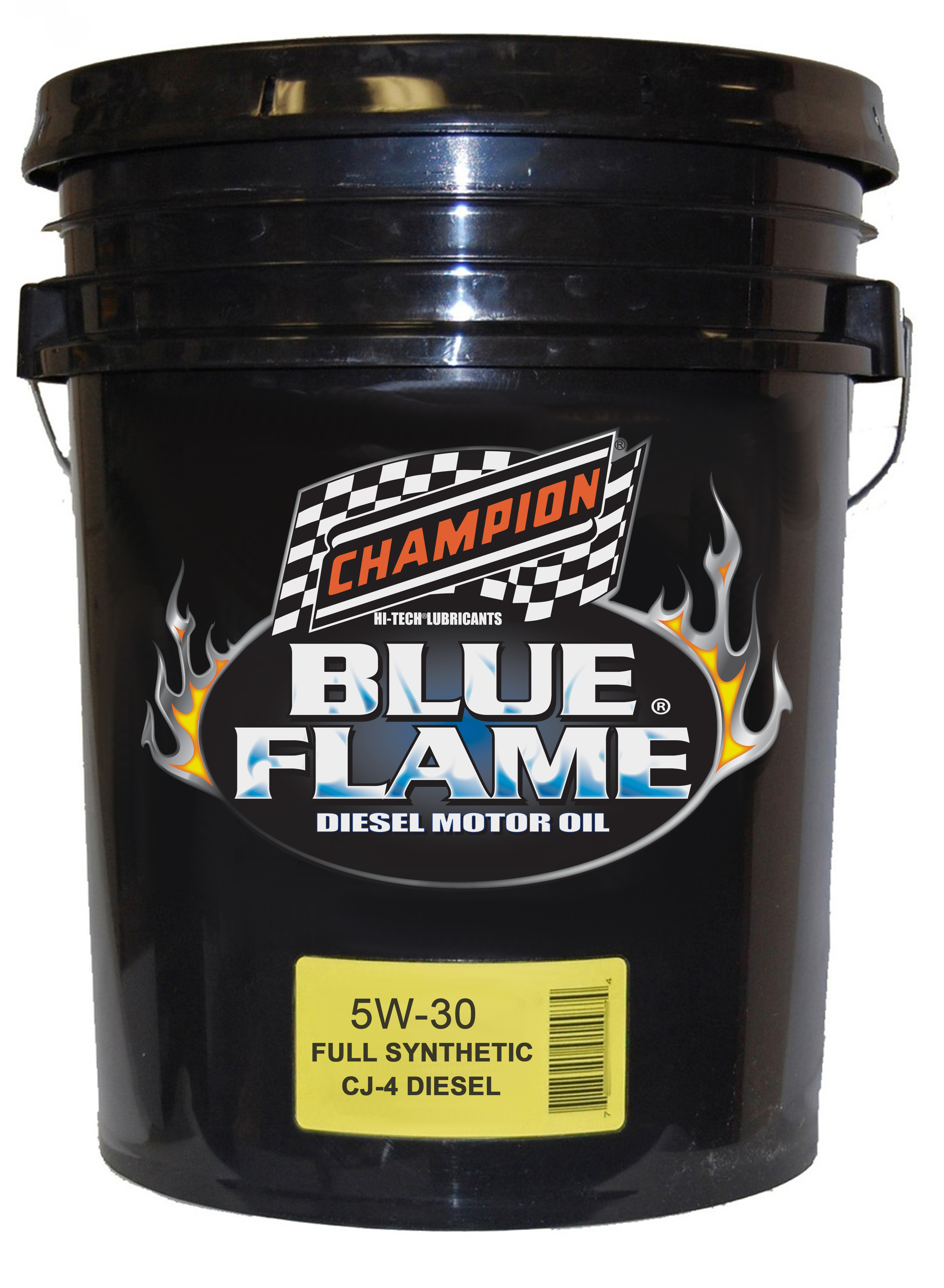 Champion launches blue flame sae 5w 30 api cj 4 diesel for Cheap motor oil online