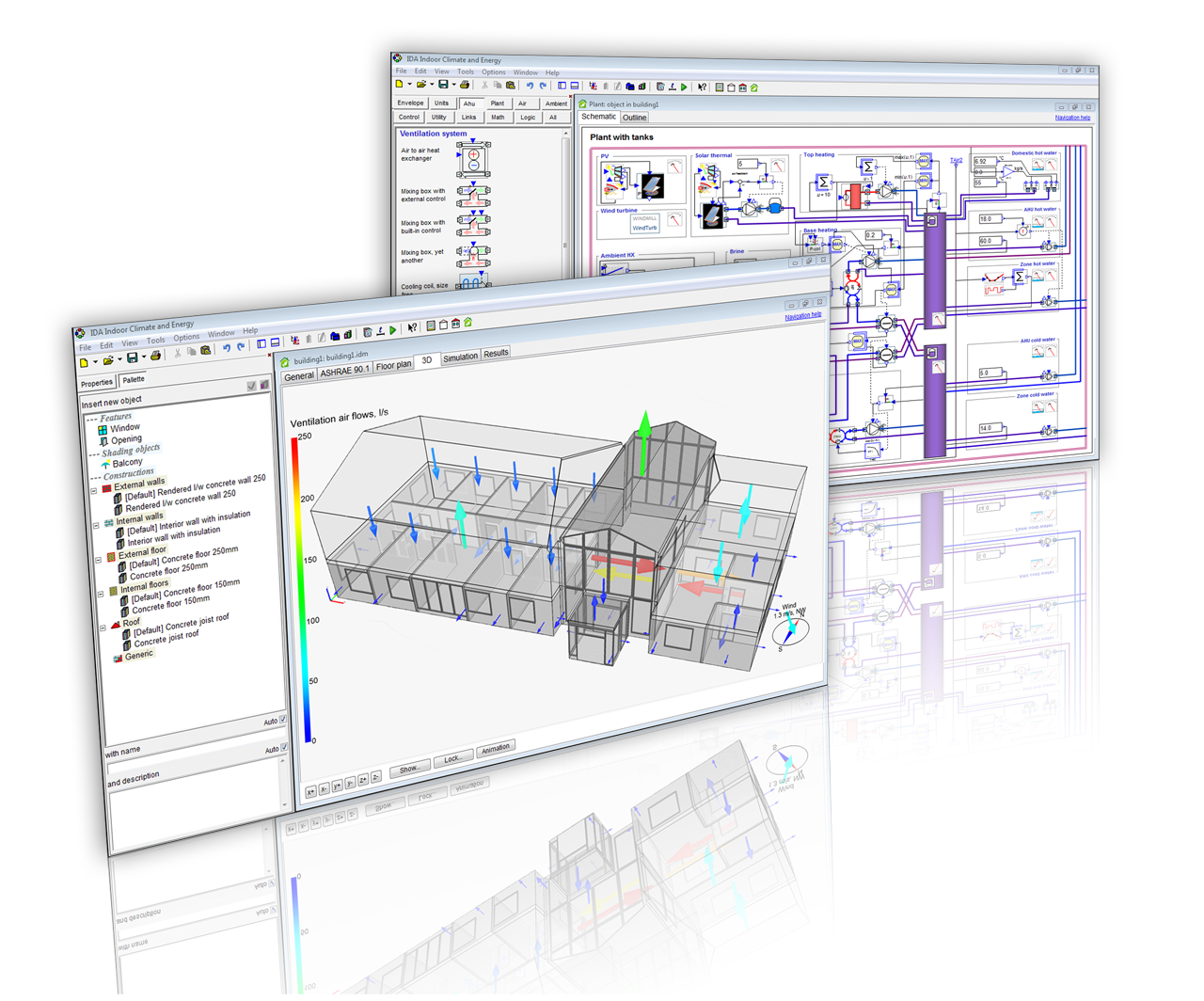 Building Performance Simulation Software With Focus On Early Stages