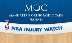 NBA Injury Watch