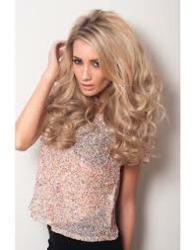 blonde_half_wig_instant_weave_wedding_hairpiece_bridal_hair_piece