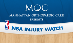 NBA Injury Watch