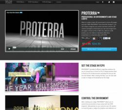 FCPX Effects - Final Cut Pro X Plugins - Pixel Film Studios - PROTERRA - 3D Text