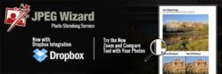 JPEG Wizard Photo Shrinking Service with Dropbox Integration