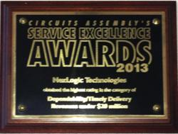 NexLogic Service Excellence Award