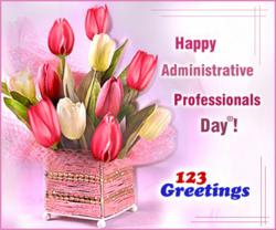 Administrative Professionals Day® Cards, Free Administrative Professionals Day® eCards, Greetings from 123greetings.com