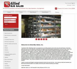 Allied Bus Sales New Website