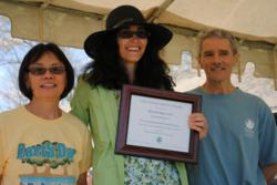 Marstel-Day President Rebecca R. Rubin Accepts The Rappahannock Group Sierra Club's Living Green Award