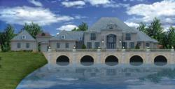"""Luxury Kentucky Mansion built by Tim Burks of Tim Burks Builder, Inc. with design by Grace Jones of Dwellings"""