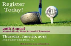 Maternal And Family Health Services 20th Annual Golf Tournament
