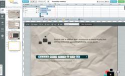 EWC Presenter Screenshot of Design Interface