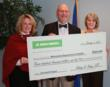 Pictured are (L-R): Ann Johnson, Executive Director for Delta Dental of Minnesota Foundation, Commissioner Edward Ehlinger, MD, MSPH, Minnesota Department of Health, and Merry Jo Thoele, RDH, HPH, Den
