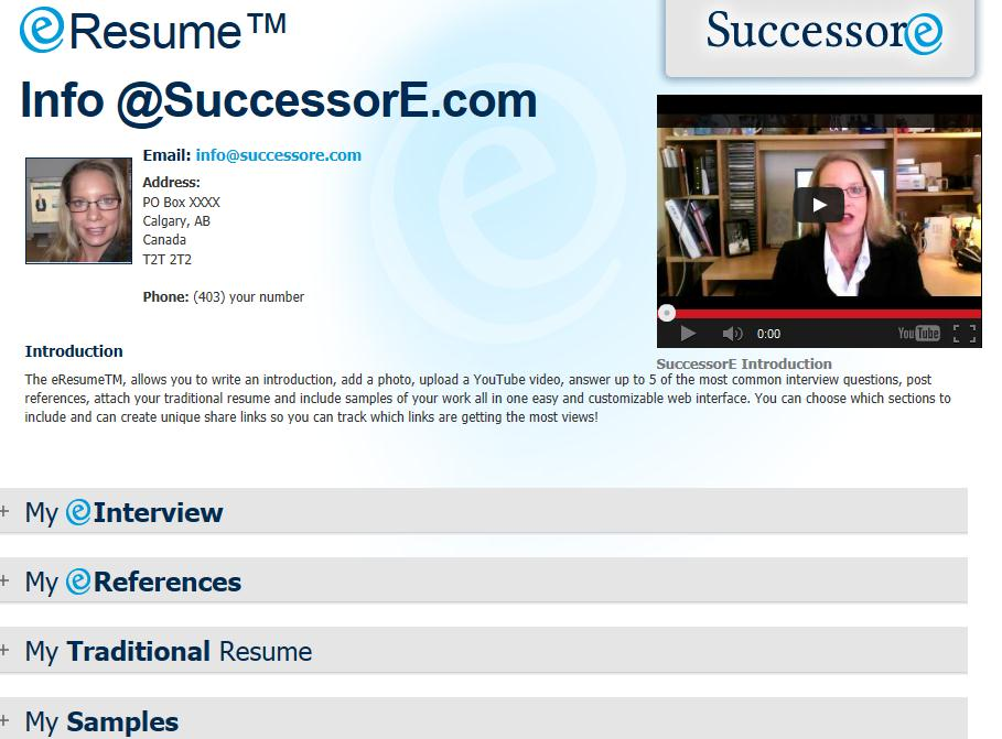 Is it the end of the traditional resume for Eresume