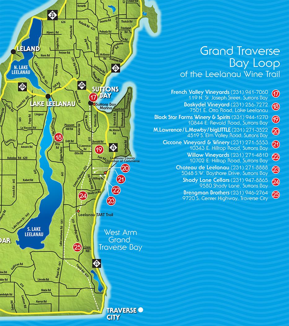 Traverse City Wine Tours Leelanau