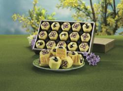 Bee & Flower Tea Cakes from The Swiss Colony