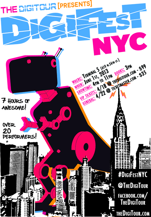 the digitour presents  digifest nyc