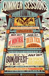 Flying Dog, Flying Dog Brewery, Summer Sessions, concerts at Flying Dog, of Montreal, Deer Tick, The Jon Spencer Blues Explosion