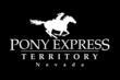 Nevada's Pony Express Territory Logo