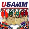 USA Military Medals Reaching Out to South Carolina National Guard with Nine Military Ribbons