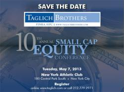 Taglich Brothers 10th Annual Small Cap Equity Conference