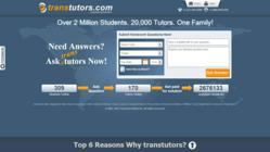 Transtutors Homepage