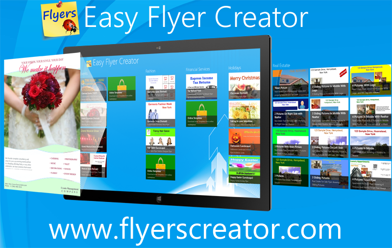 Most advanced easy publishing app easy flyer creator is for Free online brochure maker template