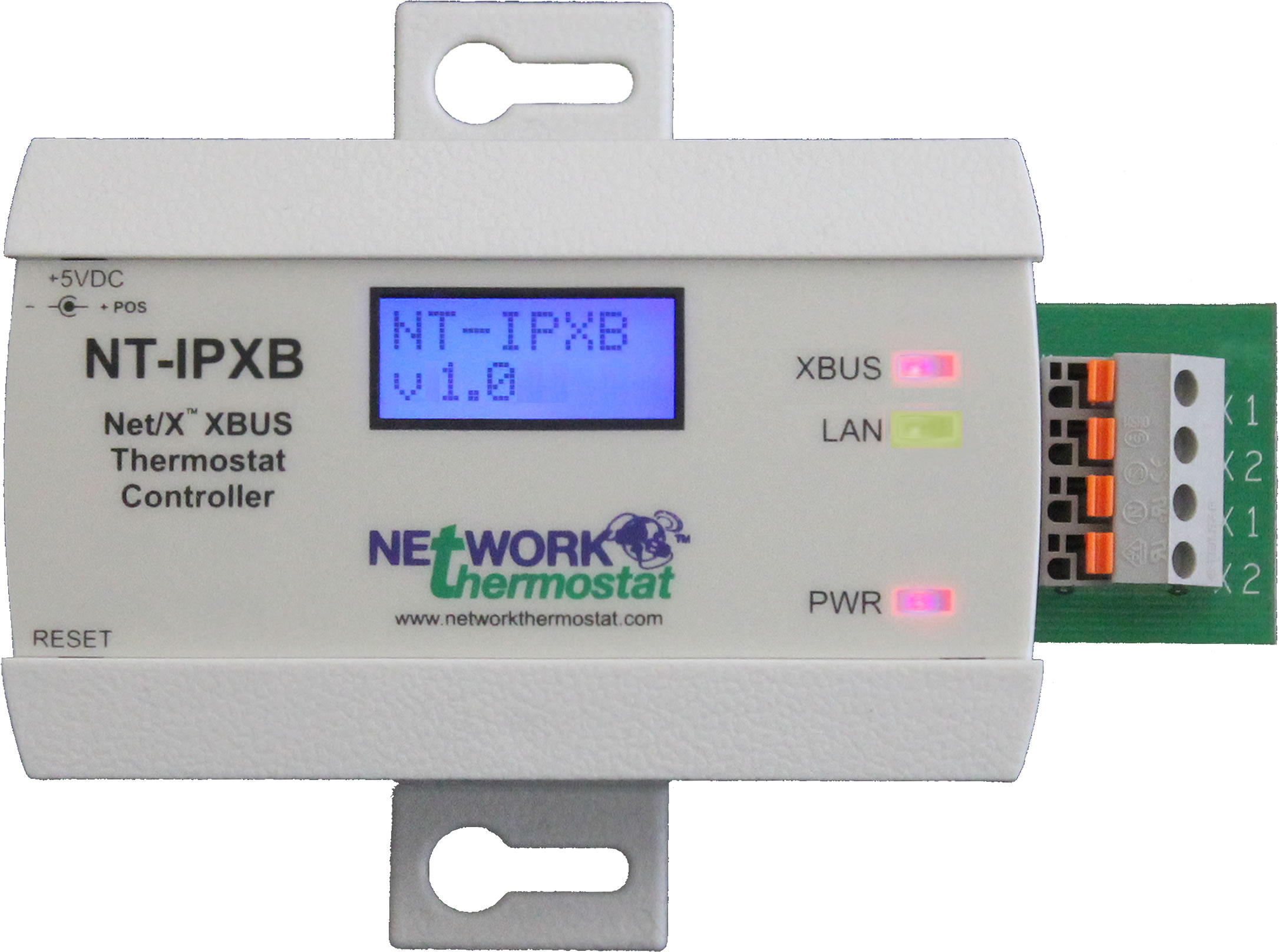 Networkthermostat Announces Ethernet Network Controller For Xbus U2122 Wired And Strongmesh U2122 Wireless
