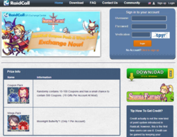 RaidCall; Popular Games; Virtual Items; Game Code; Voice Messenger
